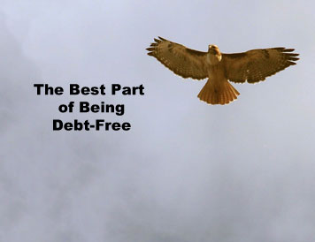 The best part of being debt-free