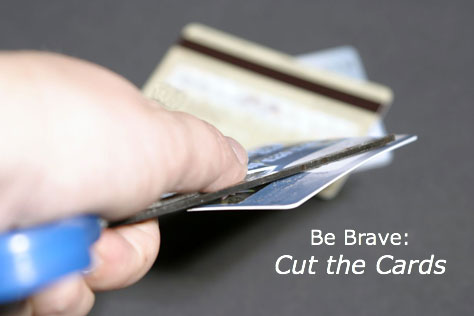 Should you cut up your credit cards?
