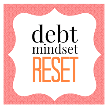 Course on changing the way you think about debt so it's easier to get OUT.