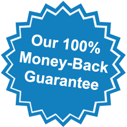 Our 100% Money-Back Guarantee