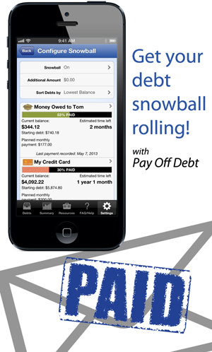 Get your debt snowball rolling with Pay Off Debt