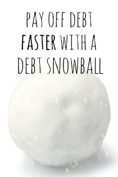 What is the debt snowball method? It's such a GREAT way to pay off debt! How & why it works.
