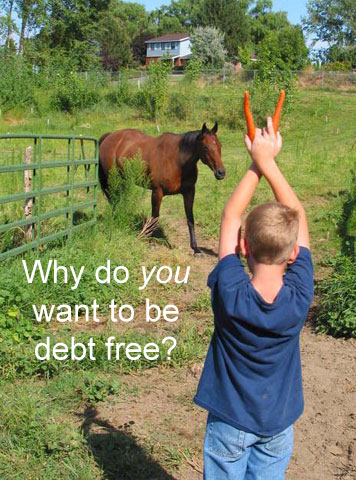 It's time to share your why (and enter to win $25) #DebtIsNotForever