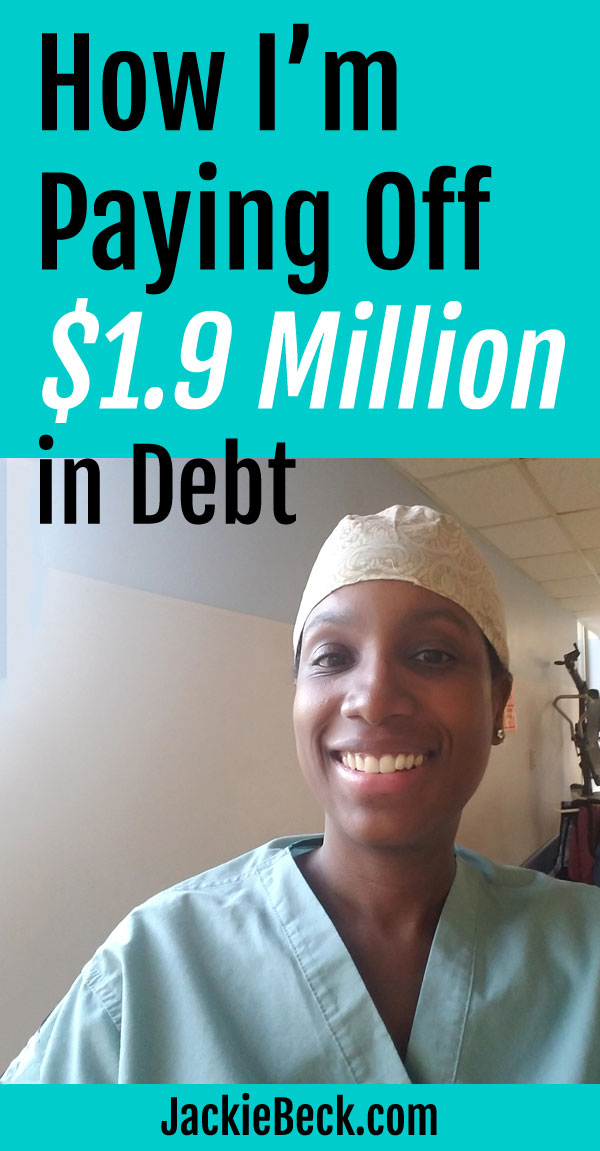 Here's how I've repaid $1.2 million of the original $1.9 million in debt so far.