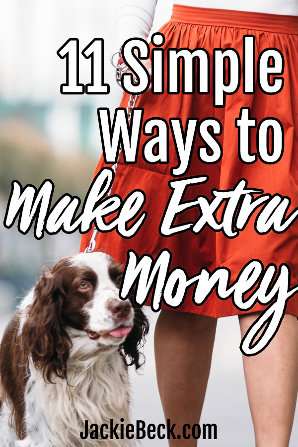 Quick ways of making a little bit of extra money