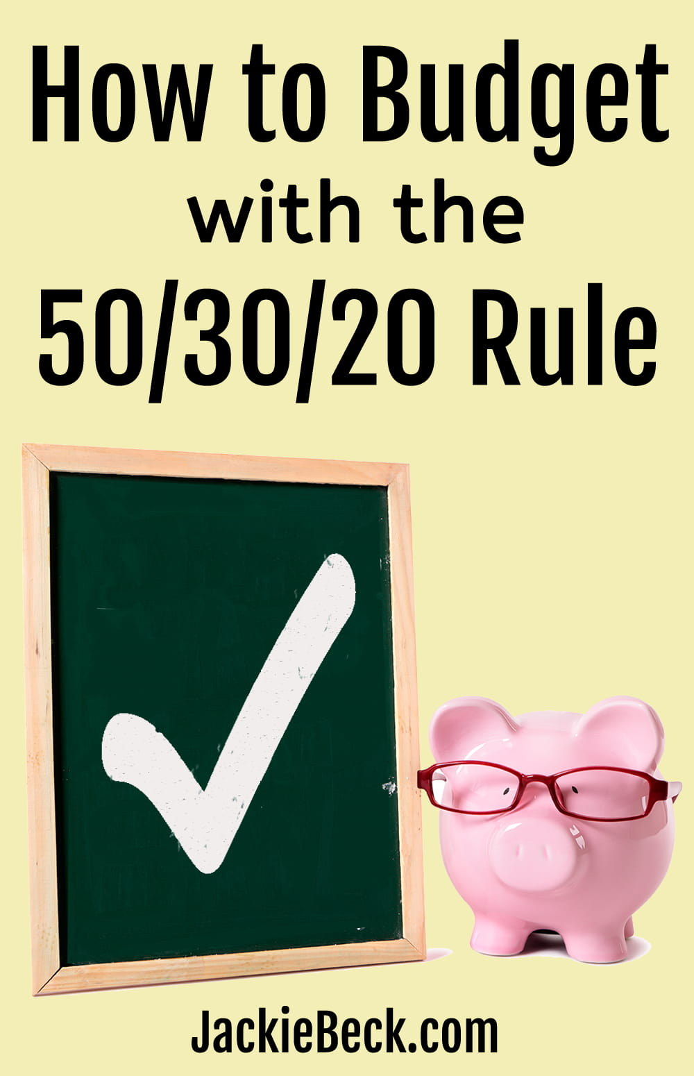 How to budget with the 50/30/20 rule
