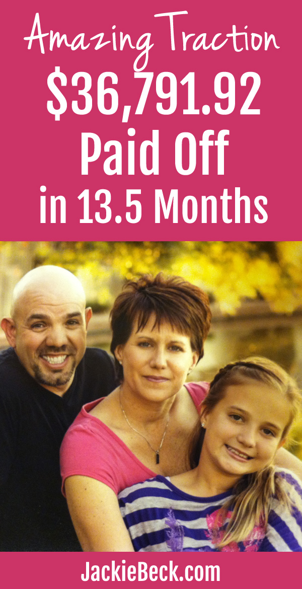 They paid off $36,791.92 in debt in 13.5 months! Check out their story to find out how Alan & Vicki got amazing traction in paying off debt.