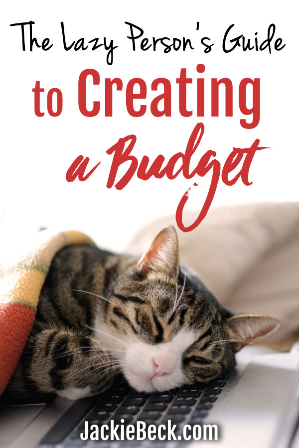 Super easy way to get started with budgeting!