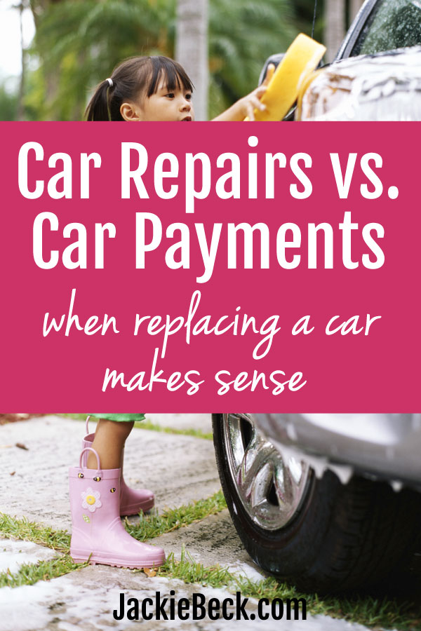 Paying for car repairs can be expensive, but here's something to keep in mind when thinking of getting a new car...