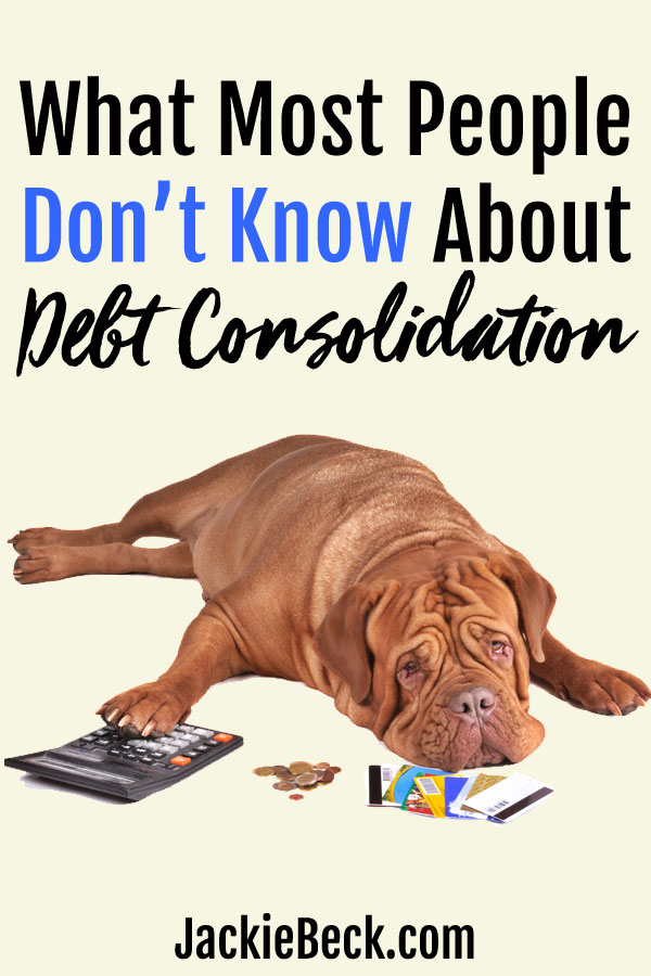 What you might not know about debt consolidation