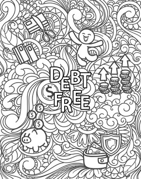 Download the full-sized version of this debt free coloring book page for free.