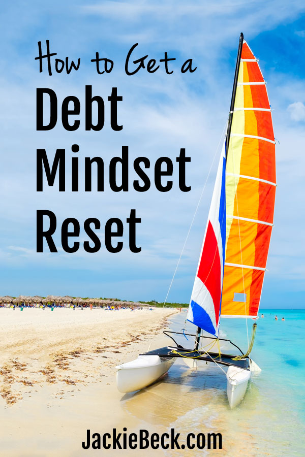 Are you ready for a debt mindset reset? No need to struggle with debt for years. This free course is REALLY motivating!
