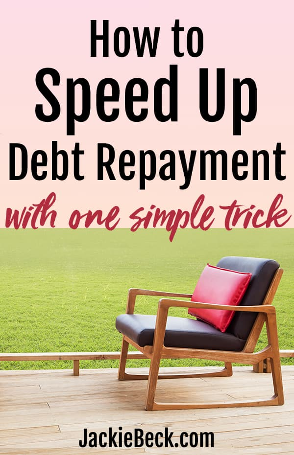 How to speed up debt repayment with one simple trick