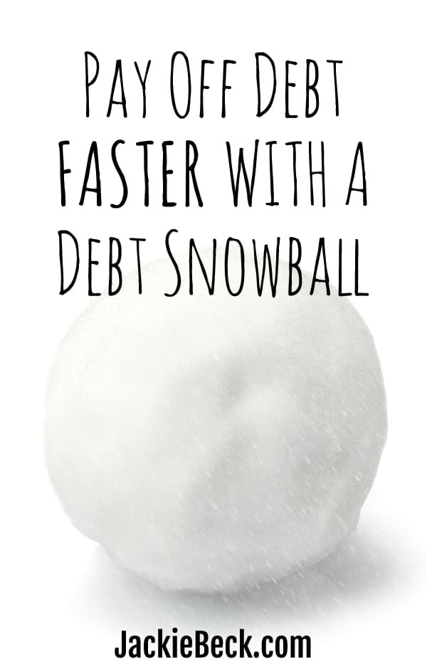 Pay off debt faster with a debt snowball