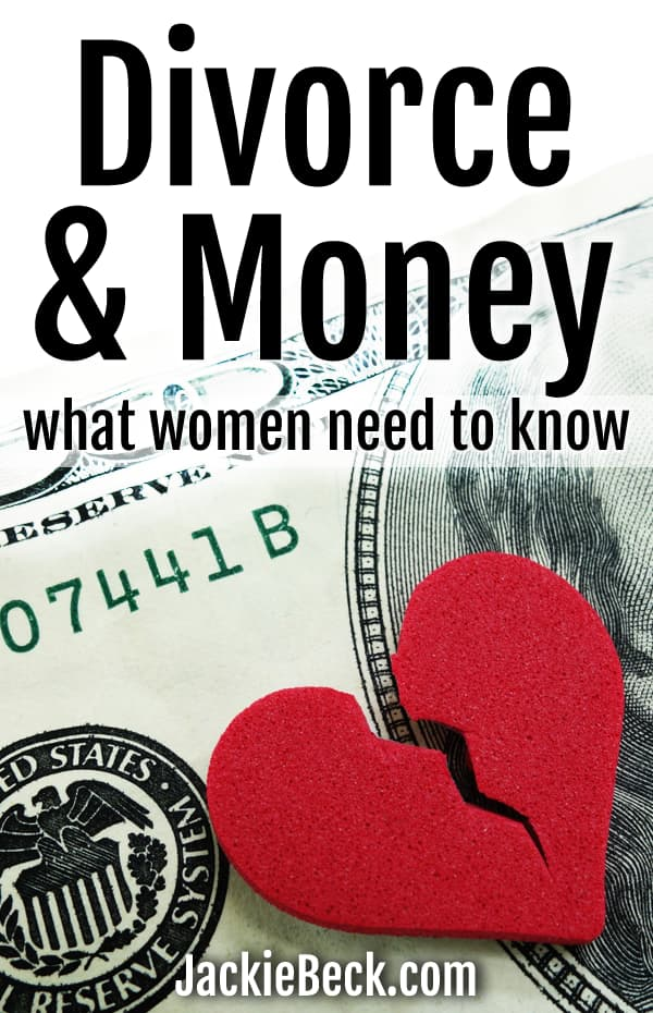 Divorce and Money - What women need to know
