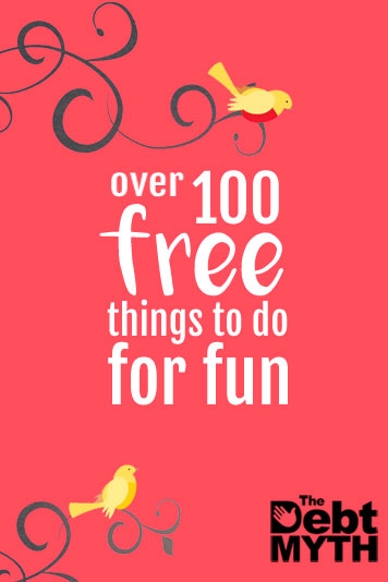 Pin now for later: The giant list of more than 100 free things to do for fun.