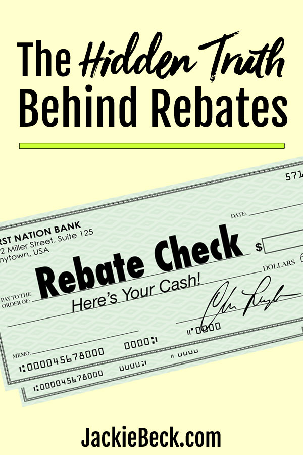 Rebates can save you a bundle if you were planning to buy the item anyway. Make sure you actually GET your money back with these tips.