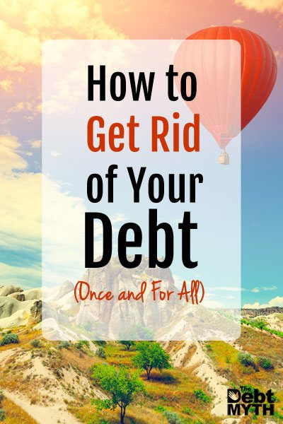If you feel like you're drowning in debt and it's wrecking your family...if you would love to get out of debt and rebuild your credit, then here's how to pay off debt once and for all.