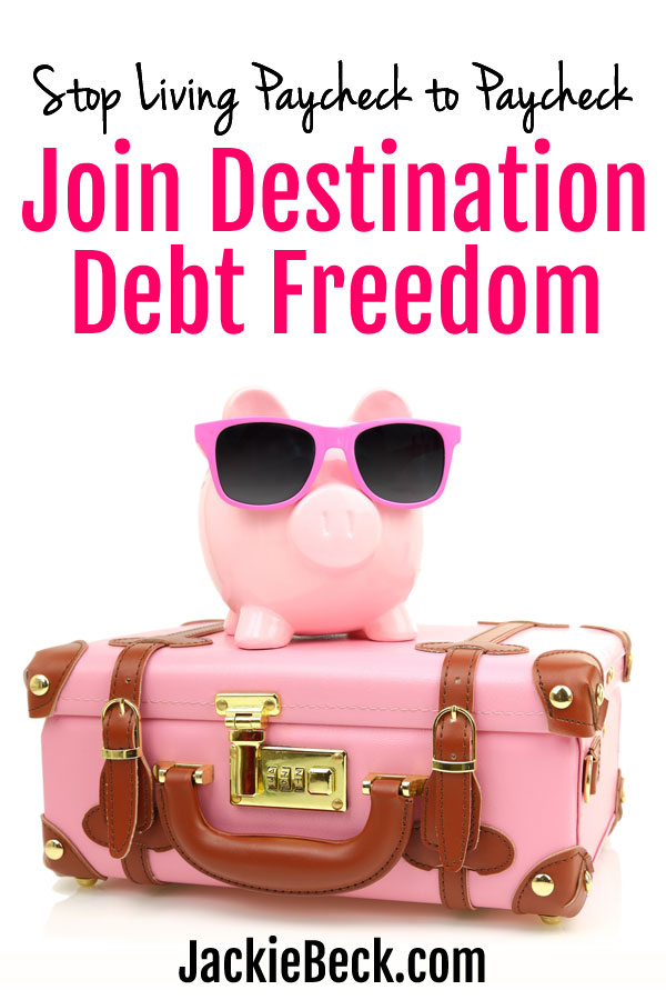 If you're sick of living paycheck to paycheck and you would love to get rid of debt for good, check out Destination Debt Freedom!