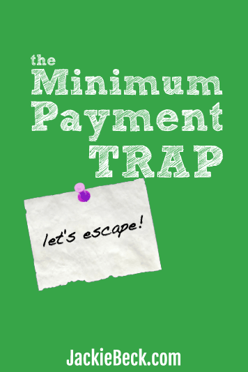 Food for thought: What if you changed the game instead of spending your life just making minimum payments?