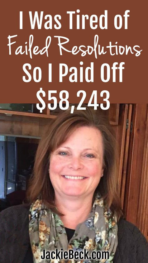 Leslie was SICK of being stressed out by debt. Check out how she turned things around and paid off over $58,000!