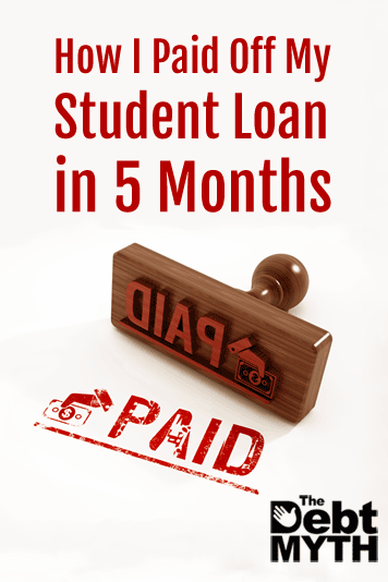 I had a wake-up call one hot June day. I realized that 9 years after taking out the loan, I still owed almost half of what I'd borrowed. But things changed!