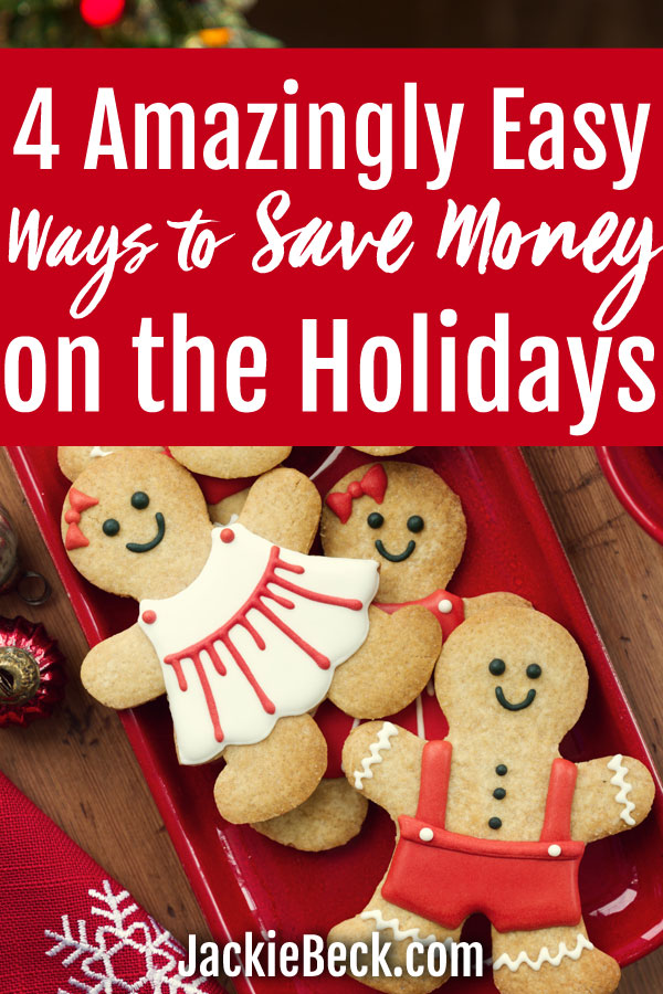 Gifts & holiday spending doesn't have to break the bank. These 4 amazingly easy holiday savings tips could save you hundreds.