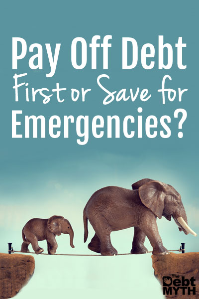 Should you pay off debt first or save an emergency fund?