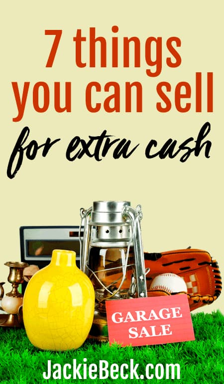Wondering what to sell for quick cash? Try turning unused items into money.