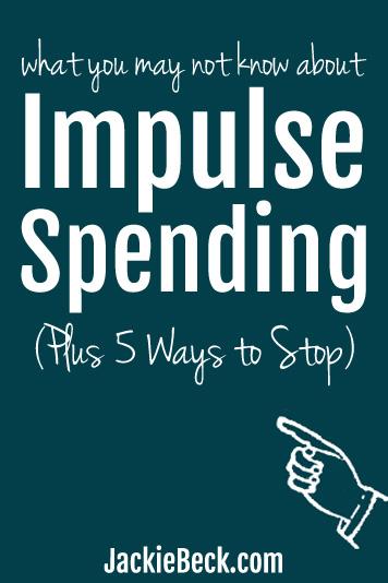 How to stop impulse spending - good ideas