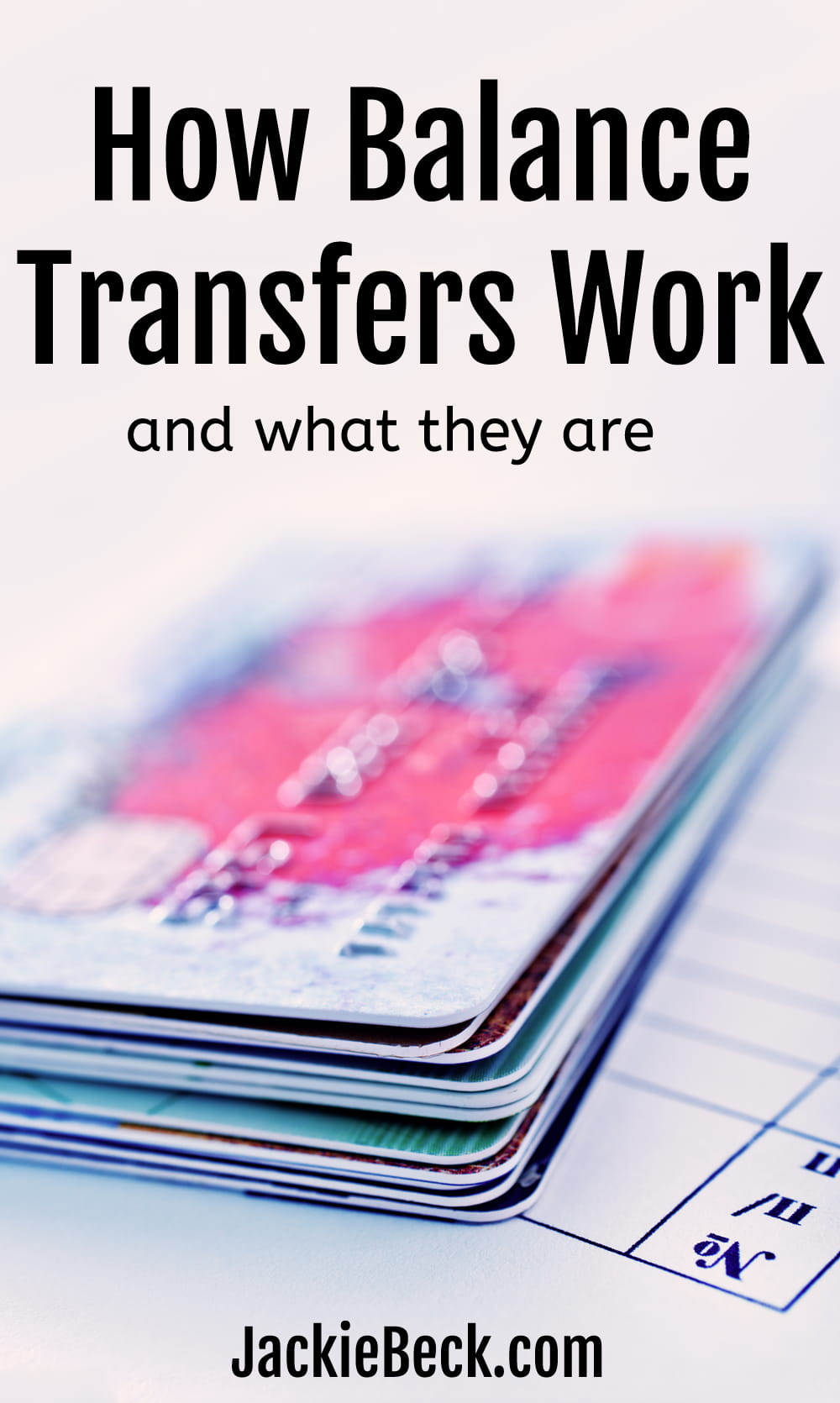 What balance transfers are and how they work