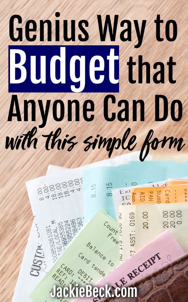 this easy to use zero based budgeting template you can fill out on your